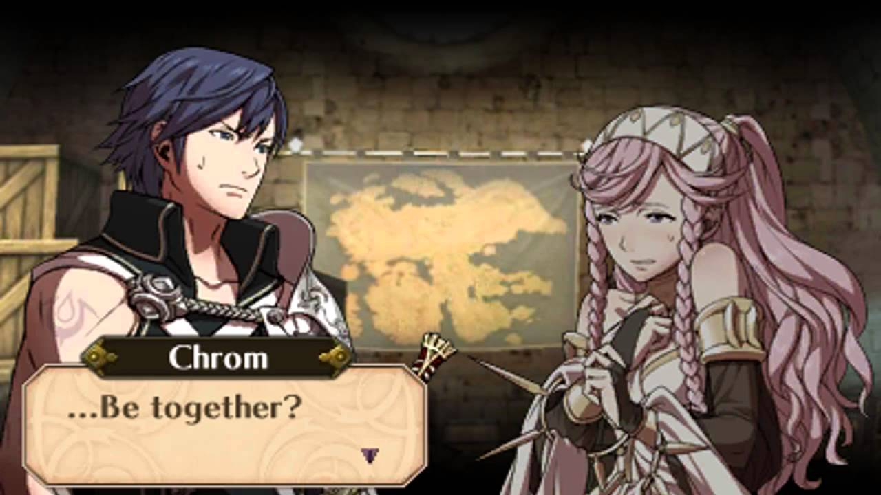 Fire Emblem: Awakening - Chapter 12 Chrom and Olivia ...