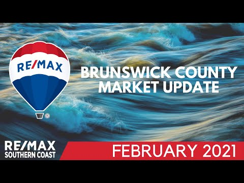Brunswick County real estate market ahead of last year's record pace - February 2021
