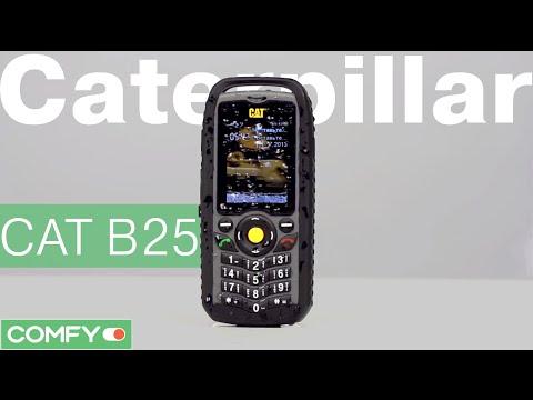 Caterpillar CAT B25 - телефон с защитой как у бульдозера - Видеодемонстрация от Comfy.ua