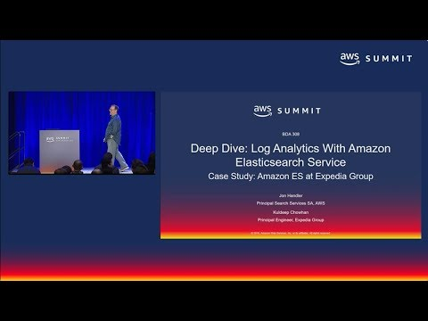 AWS Summit SF 2018: Deep Dive: Log Analytics with Amazon Elasticsearch Service (BDA308)