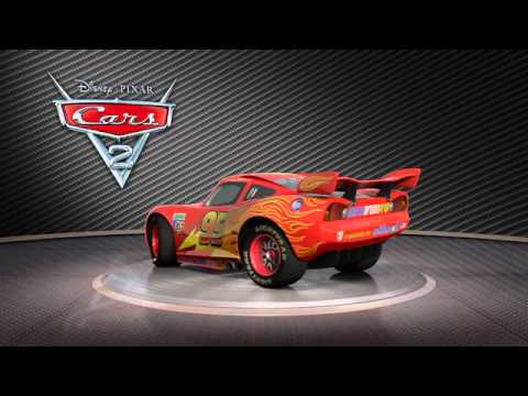 Cars 2 vid o showroom de flash mcqueen le 27 juillet - Flash mcqueen film gratuit ...
