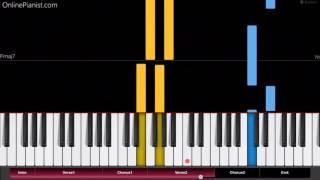 Gorillaz - Andromeda - Easy Piano Tutorial