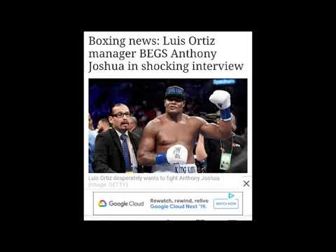 LUIS ORTIZ BEGGING FOR A FIGHT NOW