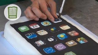 iPhone 5 Release Apfelkuchen - Back dein eigenes iPhone 5 von Apple - Leaked Kuchen #chefkoch