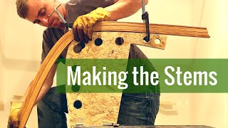 Making the Stems (Ep 3 - Cedar Strip Canoe Build)