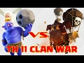 261. Clash of clans 2017 | 3 Star Th11 attack strategy | BoVal / BoLaloon and Queen walk..!!!