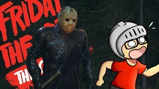 FUI PERSEGUIDO PELO JASON - Friday The 13th The Game