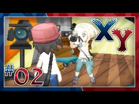 Pokémon X and Y Walkthrough - Part 2: The Photogenic Gym Leader Viola