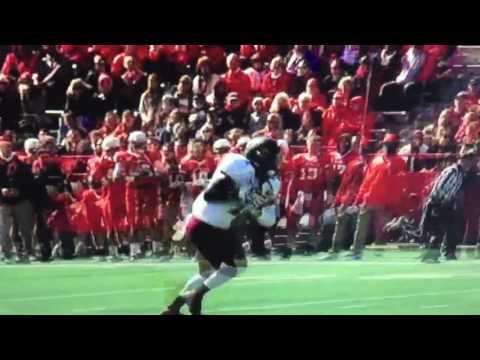 Anthony Thompson SIU football Highlight #1