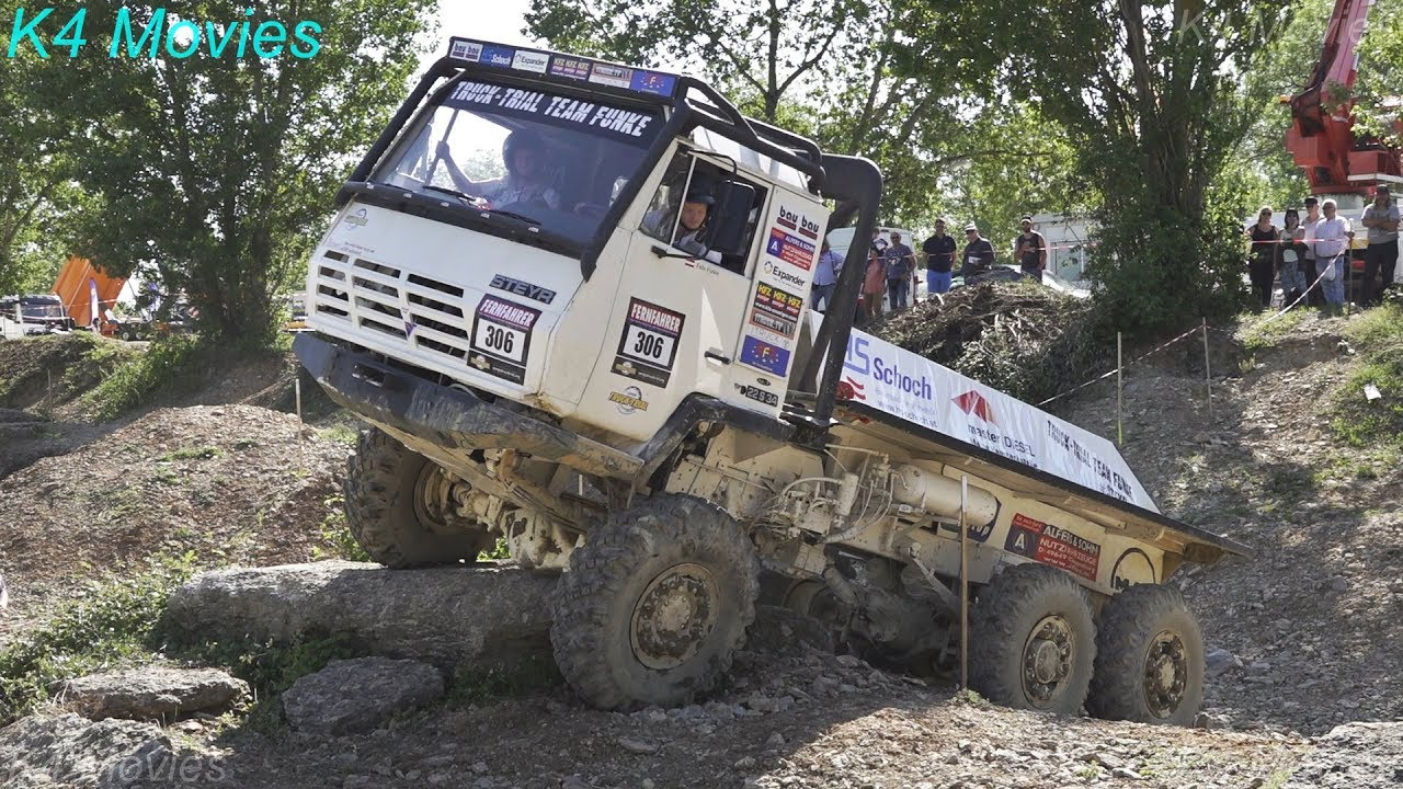 6x6 Steyr Truck | Europe Truck Trial