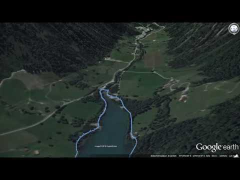 salzburger-land-|-klammsee---naturkundlicher-rundweg-|-wandern-zell-am-see---kaprun-|-gps-track
