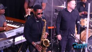 Jeff Bradshaw performs Back In The Day live at Jazzy Summer Nights