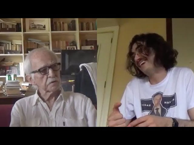 Escohotado entrevistado por Ernesto Castro: