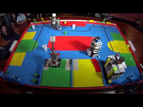 Eurobot 2015 - España - Eurobotics Engineering vs UXSC1 - Ronda 1