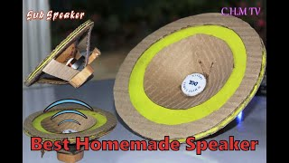 Make a Homemade Speąker Out Of Weste. [HD+]