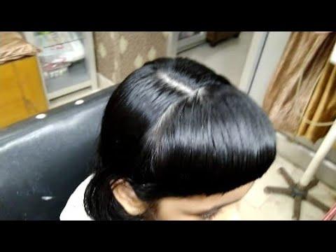 KIDS  Hair Cutting Baby Blunt And Rasna Hair Cut  Hindi