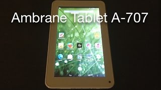 Ambrane Android Tablet - A-707