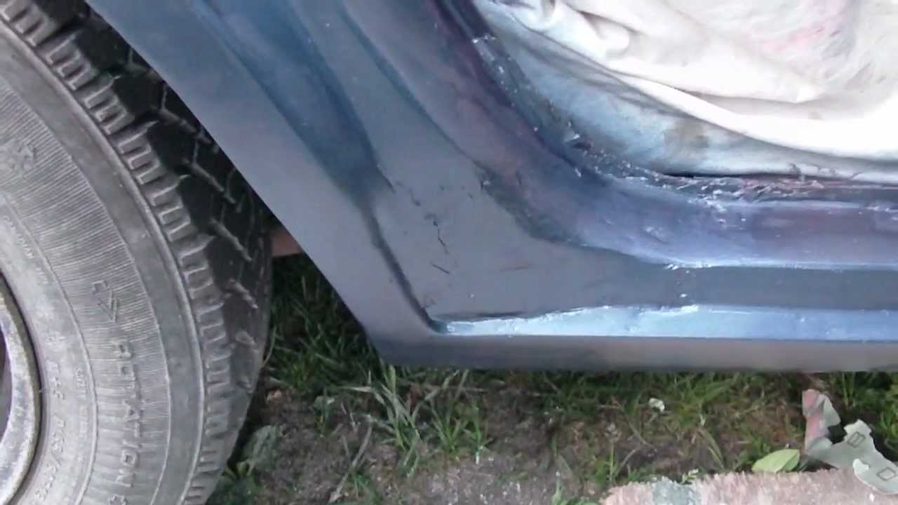 Diy Large Rust Hole Repair On Your Auto Part 4 Paint