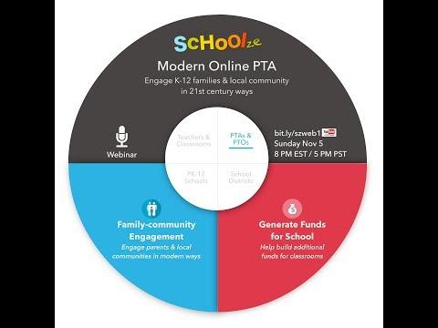 Schoolze - Modern Online PTA