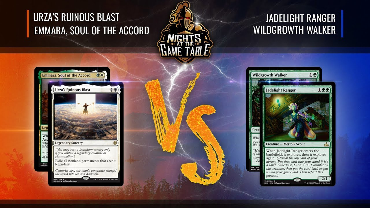 Mana Wars Deck Lists: Selesnya Legends vs  Golgari Midrange