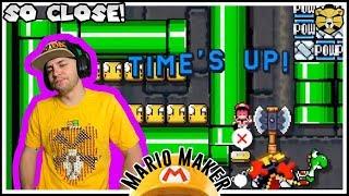 30 Seconds? Gotta Go Fast! Mario Maker