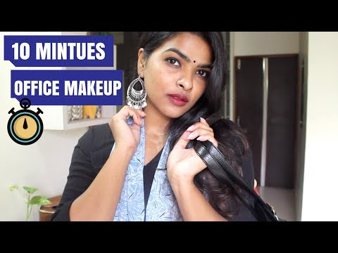 Quick & Easy Everyday Office Makeup Look | Literally takes 10 minutes
