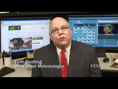 WGN's Tom Skilling Encourages Preparedness - YouTube