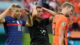 Главные неудачники Евро 2020