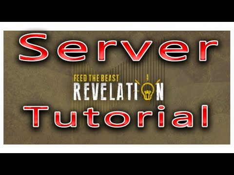 How To Make A FTB Revelation Server Tutorial - YouTube