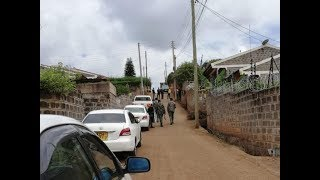 Police lockdown area where one of the terrorists lived | Kenya news today