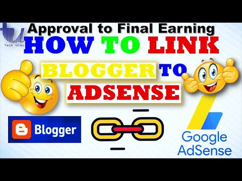 Connecting /Linking Blogger/BlogSpot to AdSense & Displaying New Ads [Urdu/Hindi/English Subtitles]