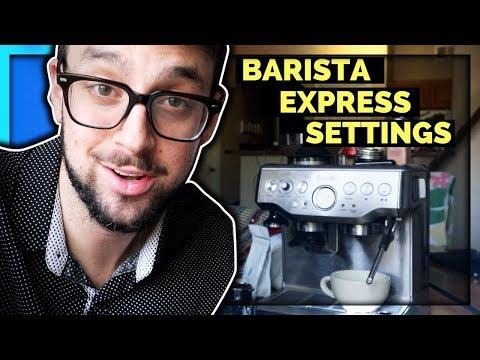 My Secret Breville Barista Express Settings - Blue Bottle Coffee Review