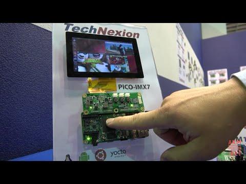 TechNexion ARM industrial modules, NXP i.MX7D dual-core ARM Cortex-A7 with ARM Cortex-M4