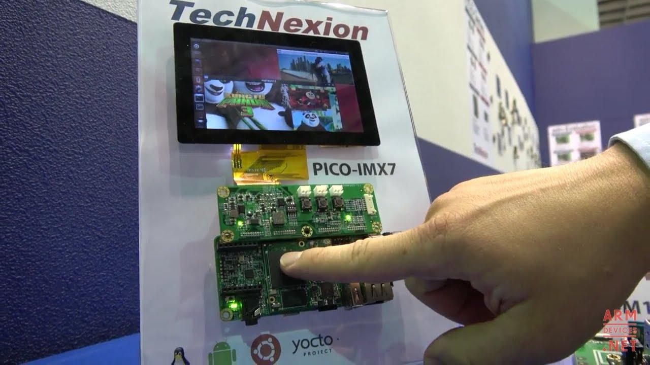 TechNexion ARM industrial modules, NXP i MX7D dual-core ARM Cortex-A7 with  ARM Cortex-M4