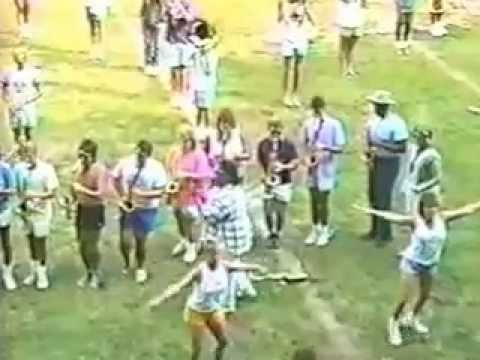 September 2, 1987 -  ECU Marching Pirates practice