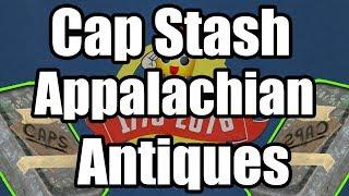 Fallout 76 - Cap Stash Location Appalachian Antiques - Where to Find Cap Stash