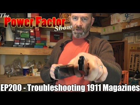 Episode 200 - Troubleshooting 1911 Magazines