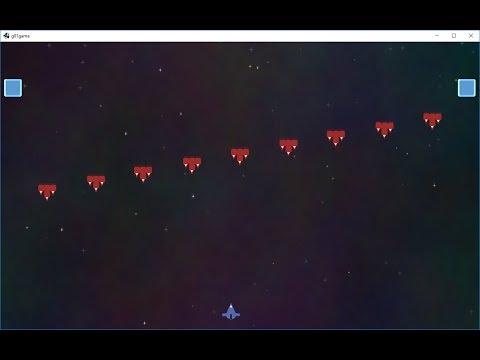LibGDX Spaceship Scrolling Game 16 - Adding font and showing status