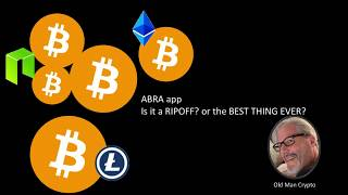 Don't use ABRA (Scam?) crypto app until you watch this video!!