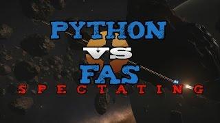 FAS vs Python PvP - Spectating - Elite Dangerous