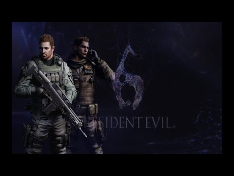 Resident Evil 6 (PS4 PRO) Chris Campaign with infinite ammo