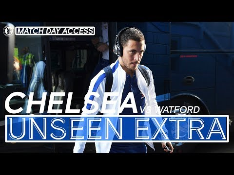 Chelsea Vs Watford Tunnel Access & More | Chelsea Unseen Extra