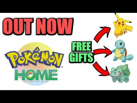Pokemon Home is OUT NOW and How to get Free Gifts
