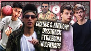 Team 10 DISS TRACK sneak peak ft. Ricegum, Faze, WolfieRaps