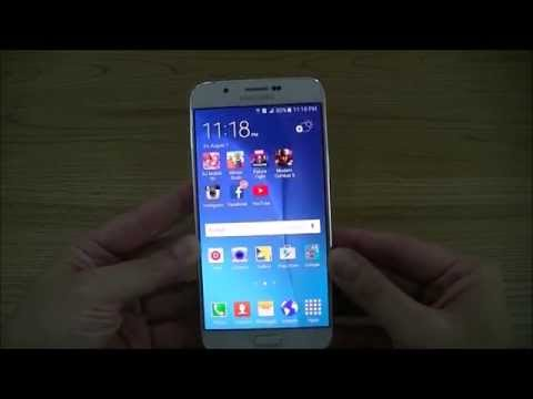 Review Samsung Galaxy A8 by xenon art