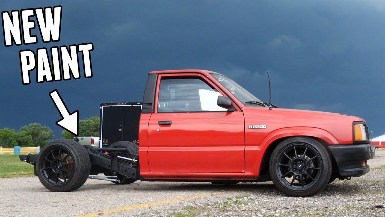 Drift Truck's Frame & Suspension Get CRAZY NEW PAINT!