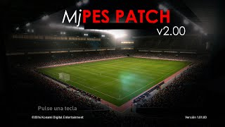 MjPES 2.0 _PATCH BRASILEIRO PES 2017  ( PC ) ,,DOWNLOAD