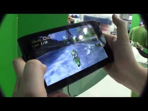 Acer Iconia Tab A100 Tablet Hands On and Preview