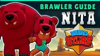 BRAWL STARS GUIDE: NITA - MASTER OF THE BEAR