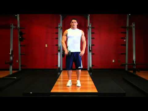 Dumbbell One Arm Upright Row